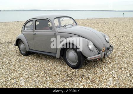 Vw volkswagen beetle split rear window stock photo for 1951 volkswagen split window