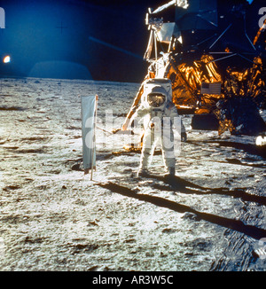 Man On The Moon Neil Armstrong - Stock Photo