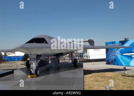 Northrop Grumman X-47B Pegasus Farnborough Air Show 2006 - Stock Photo