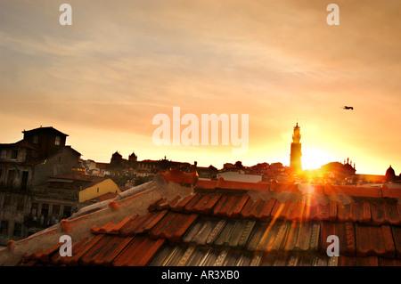 Porto Rooftops, Portugal - Stock Photo