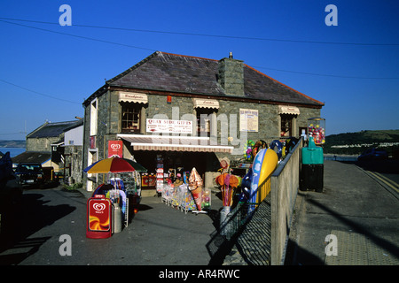 Gift Shop New Quay Ceredigion West Wales - Stock Photo