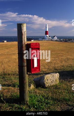 Portland Bill in Dorset county England UK - Stock Photo