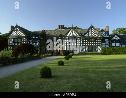Speke Hall Merseyside - Stock Photo