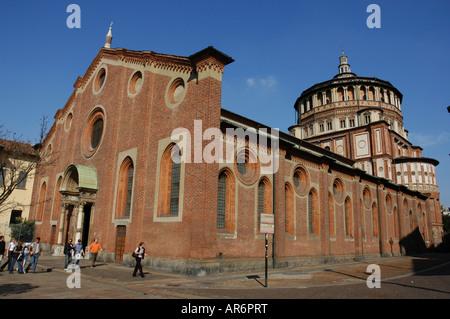 Santa Maria delle Grazie Milan Italia - Stock Photo