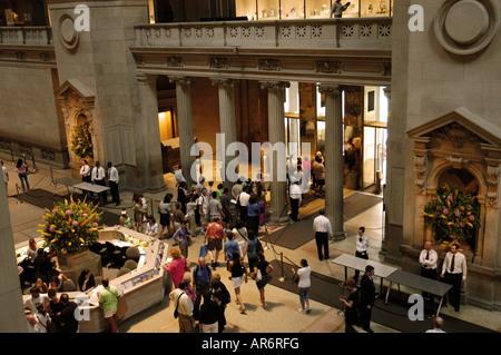 The Great Hall Metropolitan Museum New York USA - Stock Photo