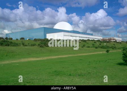 Nuclear power station Sizewell B Suffolk England UK United Kingdom GB Great Britain EU European Union Europe - Stock Photo