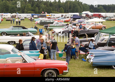 Vasteras Sweden Car Show