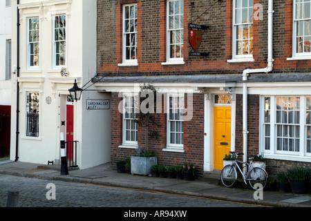 Cardinals Wharf and Provosts Lodging Bankside Southwark London UK - Stock Photo