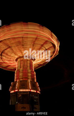 Wave Swinger at  Playland Vancouver Canada - Stock Photo