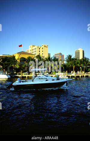 New River FortLauderdale Florida - Stock Photo
