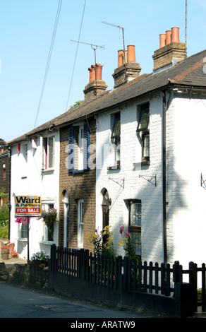 Houses in Eynsford Kent - Stock Photo