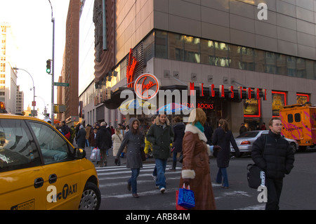 The Virgin Megastore in Union Square on Broadway in NYC - Stock Photo