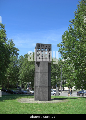 geography / travel, Germany, Bavaria, Munich, squares, Platz der Opfer des Nationalsozialismus, monument, built: - Stock Photo