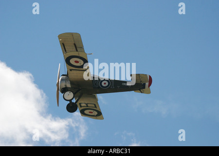 Sopwith Camel WWI Fighter Plane - Stock Photo