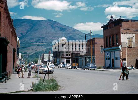 South Galena Street, Aspen, Colorado, USA, 1960 - Stock Photo