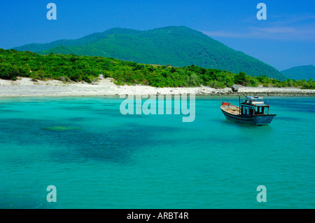 Ebony Island (Hon Mun), Nha Trang, Vietnam, Asia - Stock Photo
