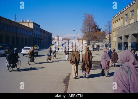 Street scene, Kabul, Afghanistan - Stock Photo
