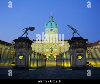 Schloss Charlottenburg Palace, Berlin, Germany, Europe - Stock Photo