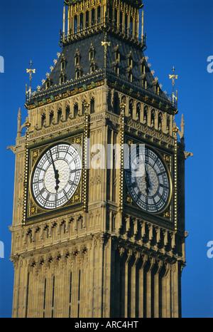 Big Ben, Houses of Parliament, Westminster, London, England, UK, Europe