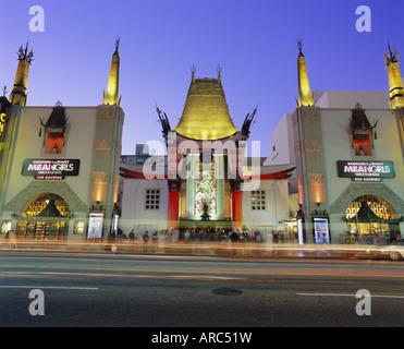 Graumann's Chinese Theater, Los Angeles, California, USA, North America - Stock Photo