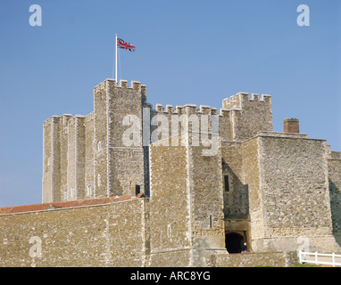 Dover Castle, Dover, Kent, England, UK - Stock Photo