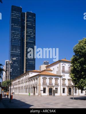 Praca 15 November, Rio de Janeiro, Brazil - Stock Photo