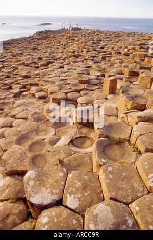 Giant's Causeway, County Antrim, Northern Ireland, UK, Europe - Stock Photo