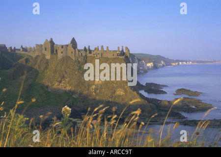 Dunluce Castle, County Antrim, Northern Ireland, UK, Europe - Stock Photo