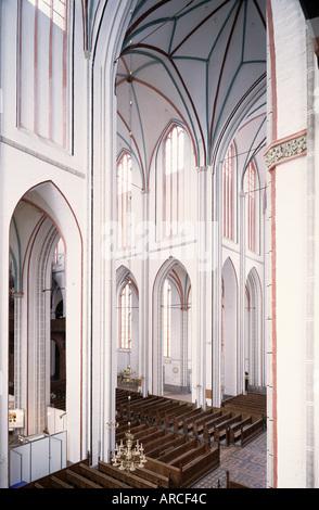Schwerin, Dom, Blick in die Vierung von Südosten - Stock Photo