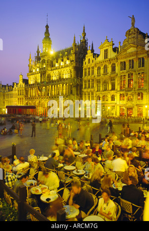 Grand Place, Brussels, Belgium - Stock Photo