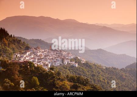 Algatocin, Ronda mountains, Andalucia, Spain, Europe - Stock Photo