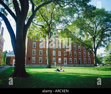 Harvard University, Boston, Massachusetts, USA - Stock Photo