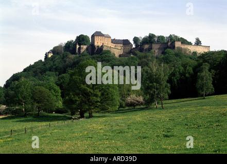 Königstein, Festung, - Stock Photo