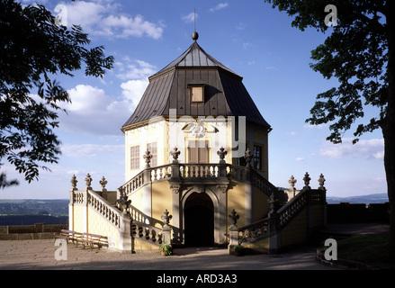 Königstein, Festung, Friedrichsburg  (Pöppelmann) - Stock Photo