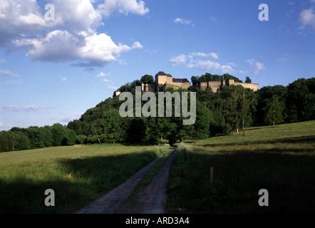 Königstein, Festung, Blick von Norden - Stock Photo