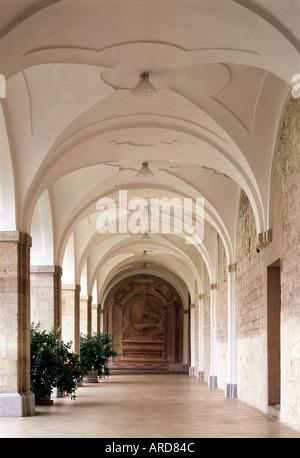 Prag, Kloster Strahov, Kreuzgang - Stock Photo