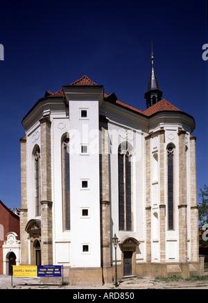Prag, Kloster Strahov, Rochuskapelle - Stock Photo