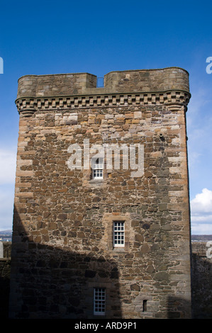 Blackness Castle West Lothian Scotland former prison and munitions store on the south bank of the Forth - Stock Photo