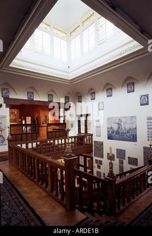 Delft, Museum Lambert van Merten, Treppenhaus - Stock Photo