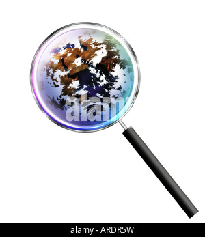 globe illustration - Stock Photo