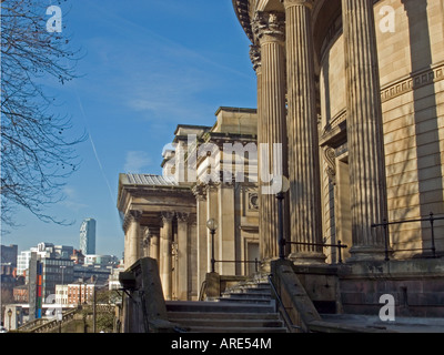 Central Library and the World Museum, Liverpool - Stock Photo