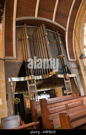 Art Nouveau Church of Saint Mary the Virgin in Great Warley Brentwood Essex. GB UK - Stock Photo