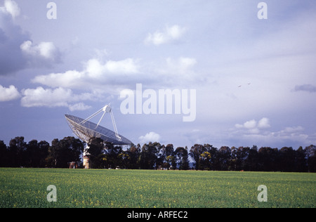 The Radio Telescope AKA The Dish near the town of Forbes in New South Wales Western Australia - Stock Photo