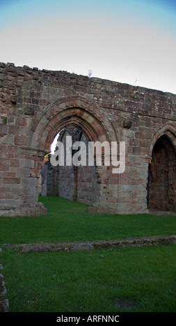 Croxden Abbey, Staffordshire, England, UK - Stock Photo