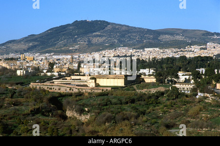 Fes Fez Fès-Boulemane Northern Morocco Middle Atlas Maghreb Maghrebian Berber Arab Arabic Moroccan North Africa - Stock Photo