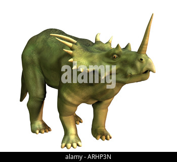 dinosaur Styracosaurus - Stock Photo