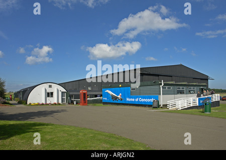 National Museum of Flight on East Fortune Airfield in East Lothian Scotland - Stock Photo