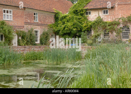 Flatford Mill the centre of Constable Country was the inspiration for many of John Constable s paintings - Stock Photo
