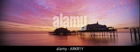 The derelict West Pier, Brighton, East Sussex, Sussex, England, UK, Europe - Stock Photo