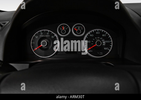 2008 Ford Fusion S in White - Speedometer/tachometer - Stock Photo